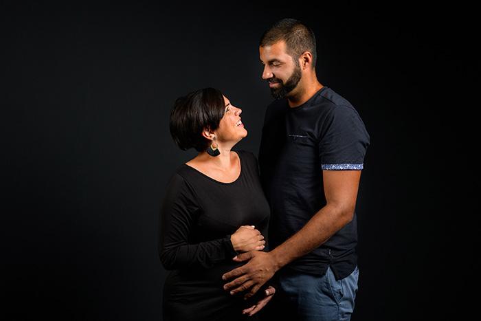 photographe maternité en couple