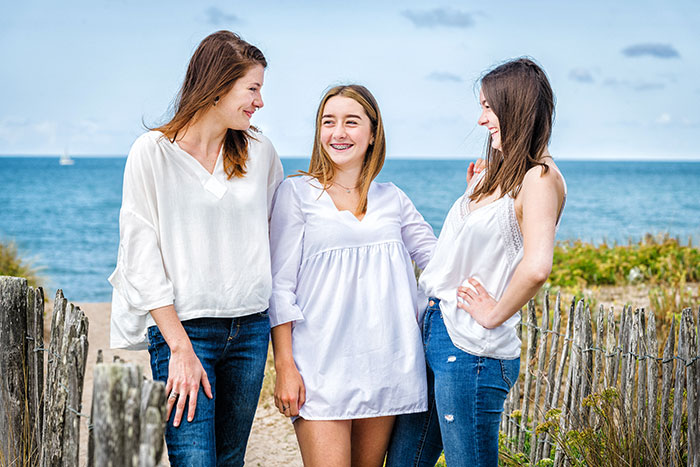 photographe famille mer la baule