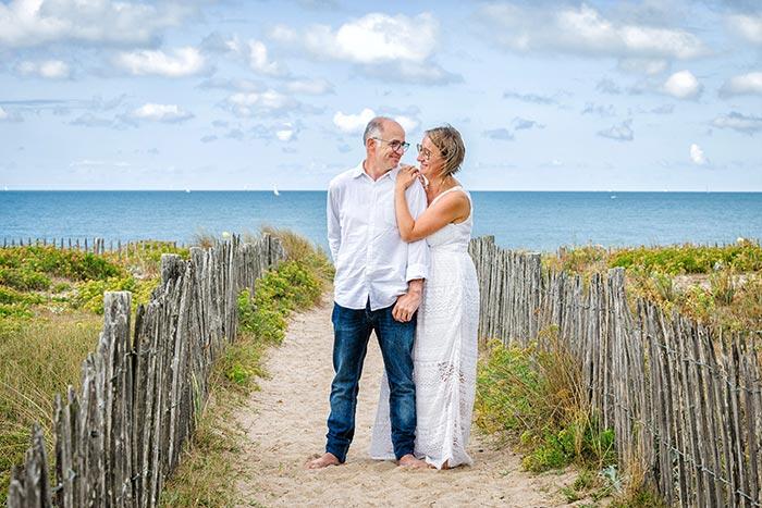 photo de couple mer Bretagne