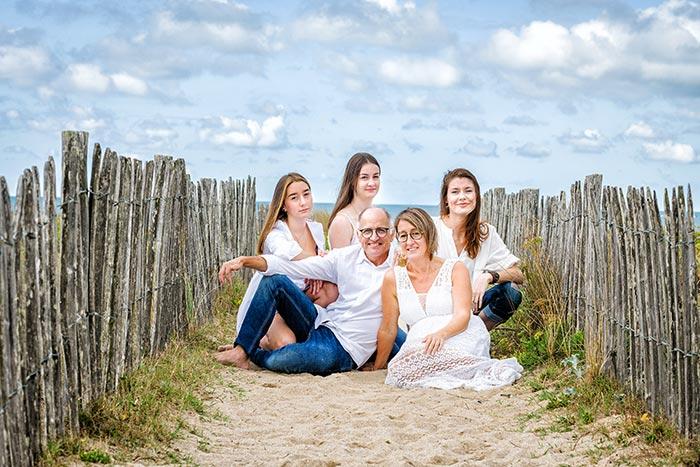 séance portrait famille Bretagne