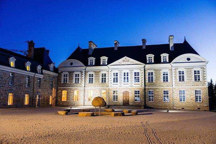 Château des Pères heure bleue