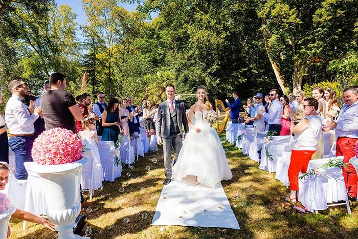 sortie mariage célébration laïque