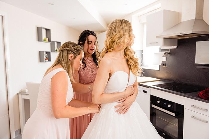 photo robe de mariée bretagne