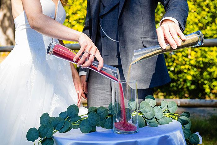 célébration sable mariage