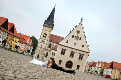 Reportaż ślubny w Bardejovie