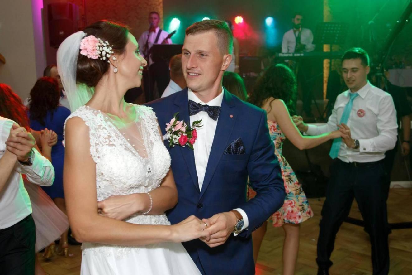 Taniec ślubny Iwony i Damiana