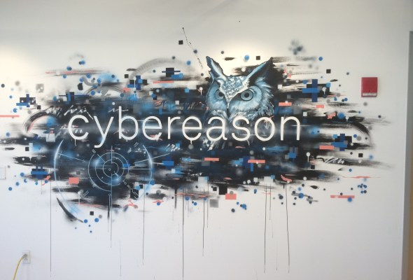 New Cybereason Office Mural