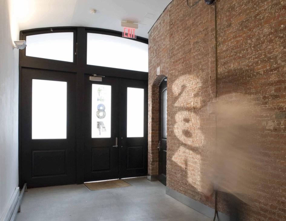 soho new york lobby designed by Pierre Albert Winter :: industrial minimalism ... interior designer created sun shadows