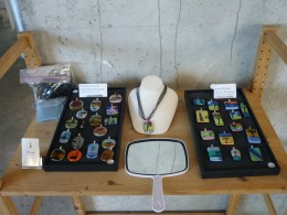 Holiday Season Shop with glass work by Miriam Silburt.