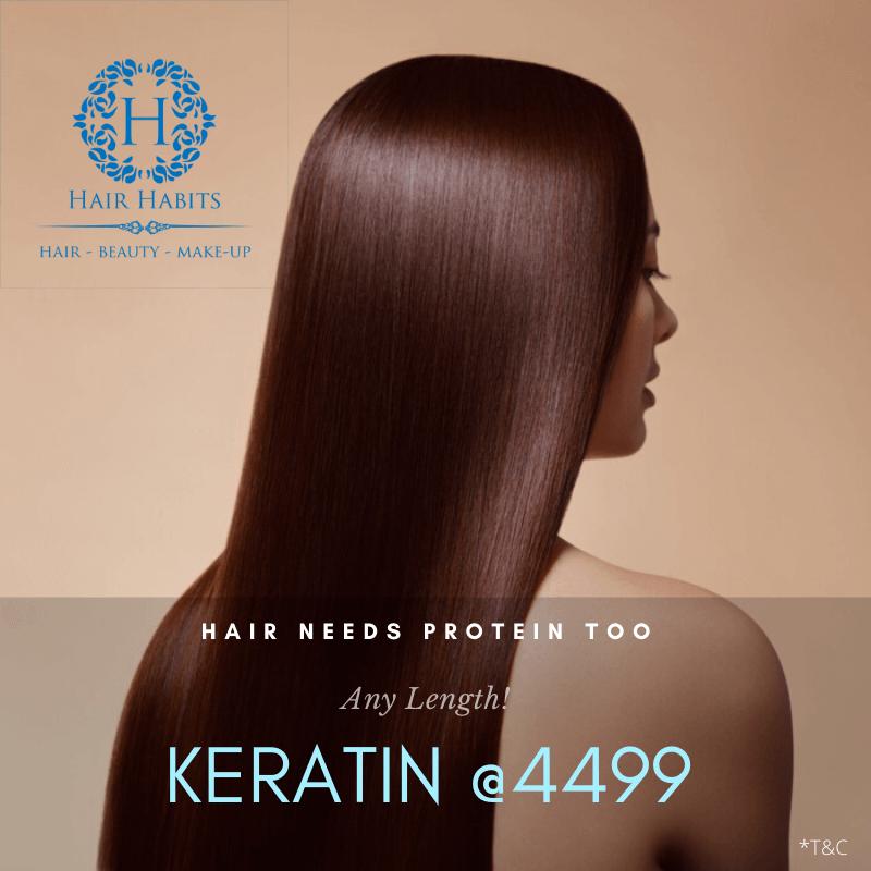 keratin hair treatment offer NAgpur salon