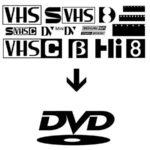 המרת קלטות וידאו, המרה לדיוידי, המרה למיני דיוי, צריבה לדיסק, המרה למחשב, המרה לקובץ, המרה לDVD, המרה למיני DV, המרה מוידאו