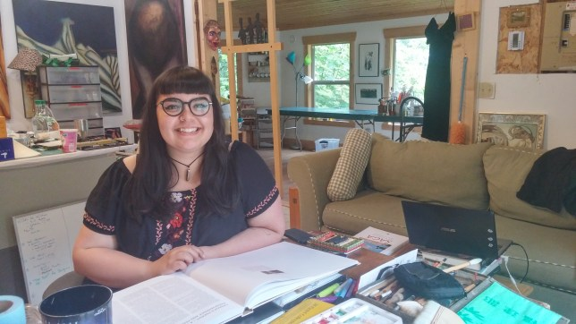 Ashleigh Giffen, Writing Residency, 2017