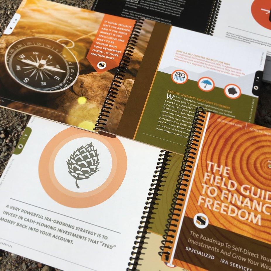 Studio Hill Design Sample Print Brochure