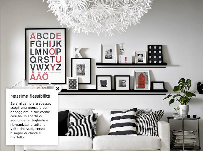 Sono soluzioni sobrie ed eleganti ma possono anche essere più colorate e divertenti, da scegliere in base allo stile che volete ricreare. Quadri E Foto Idee E Spunti Da Ikea Dress Your Home
