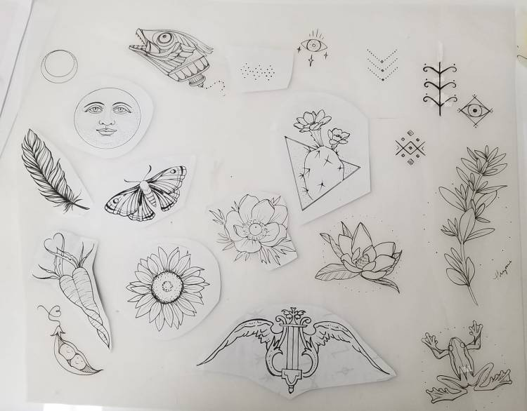 ae02b805a Ashley's FLASH SPECIAL tomorrow, 1/24 from 1p-8p, first come, first served.  CASH ONLY. $30-$80! All blackwork, black and gray, stipple, or line  shading, ...