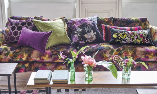 Cushions image courtesy of The Designers Guild