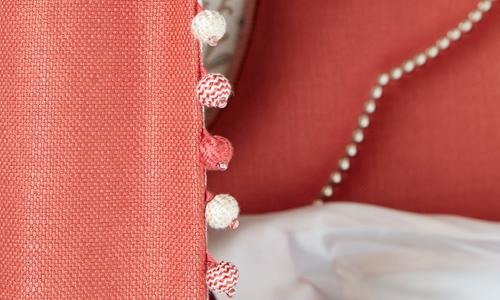Fabrics Image courtesy of Nina Campbell © at Osborne & Little Ltd.