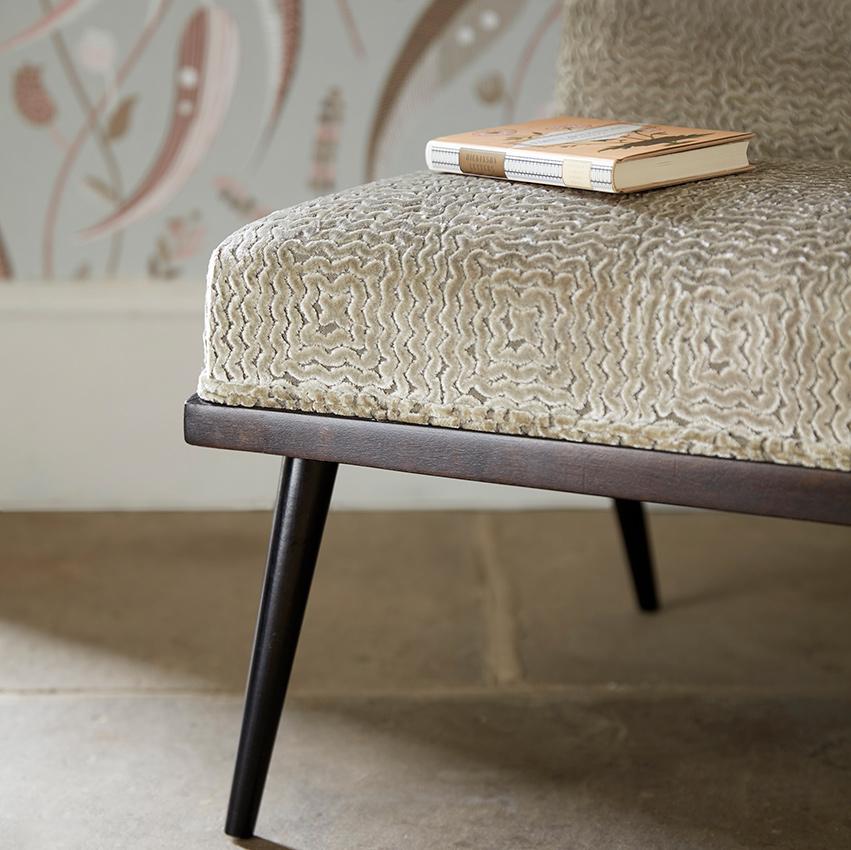 Upholstery image courtesy of Nina Campbell © at Osborne & Little Ltd.