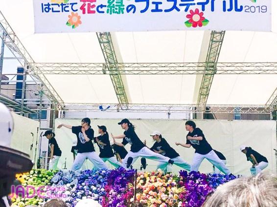 はこだて花と緑のフェスティバル2019へ出演しました!