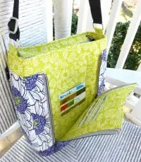 With Dual Zipper Access, AND an Invisible Sew-in Magnetic snap for TOTAL security
