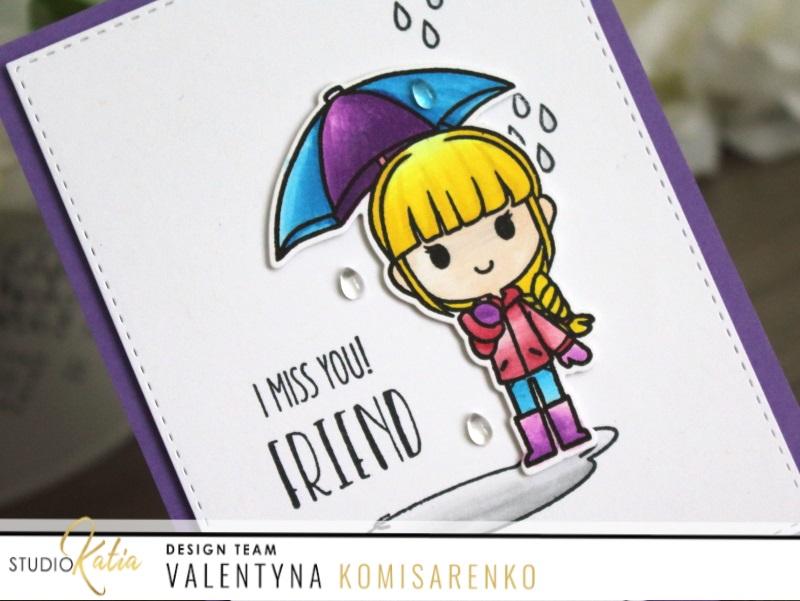 I Miss You Friend With Valentyna