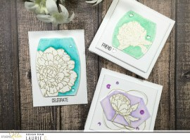 Floral Cards with Laurie
