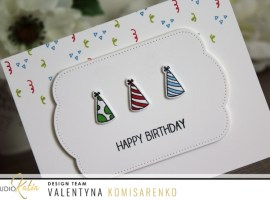 Birthday Cone Hats with Valentyna