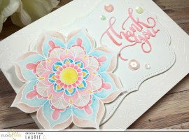 Mandala Thank You Card with Laurie