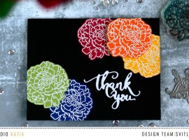 Using Color Cardstock Leftovers
