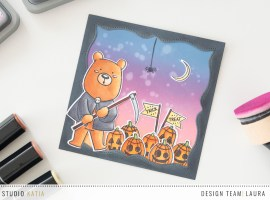 Trick or Treat Card with Laura