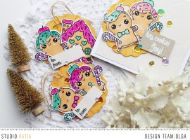 Sweet Cookie Cards and Tags with Olga