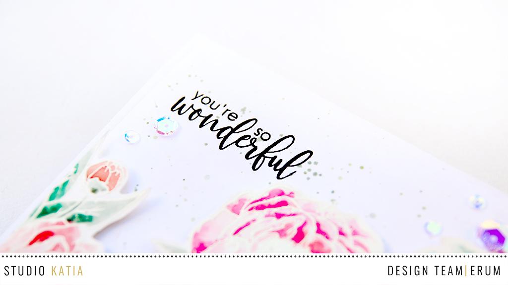 Studio Katia Blooming Bunch Watercoloured by Erum Tasneem   @pr0digy0