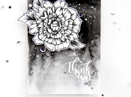 Ombre Watercolour Background with Erum