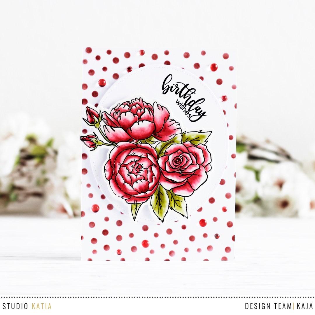 Floral birthday wishes with kaja izmirmasajfo