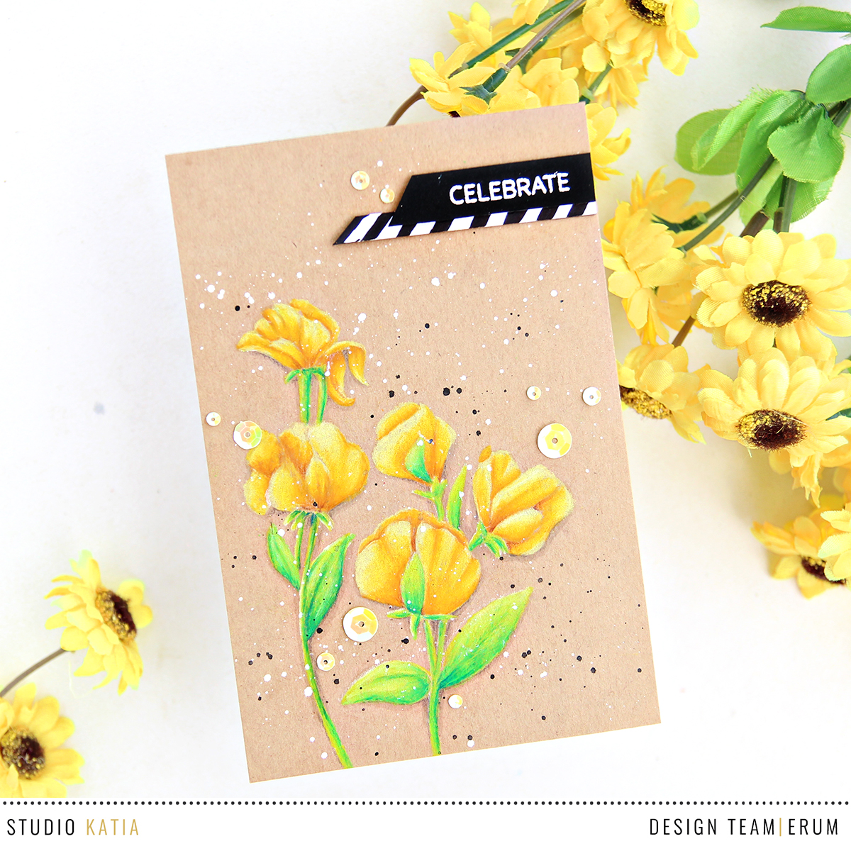 Studio Katia You're So Sweet Stamp Set | Erum Tasneem | @pr0digy0