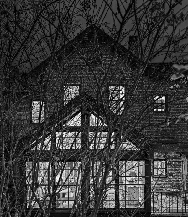 Rear Window Dark by Dan Kaufman, Studio Kaufman