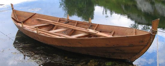 Faering Viking boat