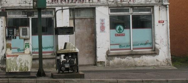 Spar shop in Wales