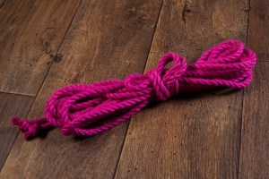 Pink Ogawa 6mm Jute rope