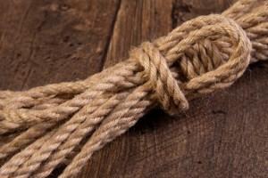 Hanked 6mm Jute rope