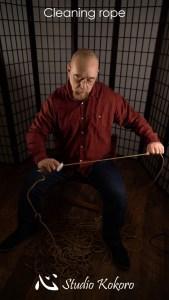 Studio Kokoro Shibari rope Tutorial Cleaning rope