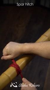 Studio Kokoro Shibari rope Tutorial Spar Hitch