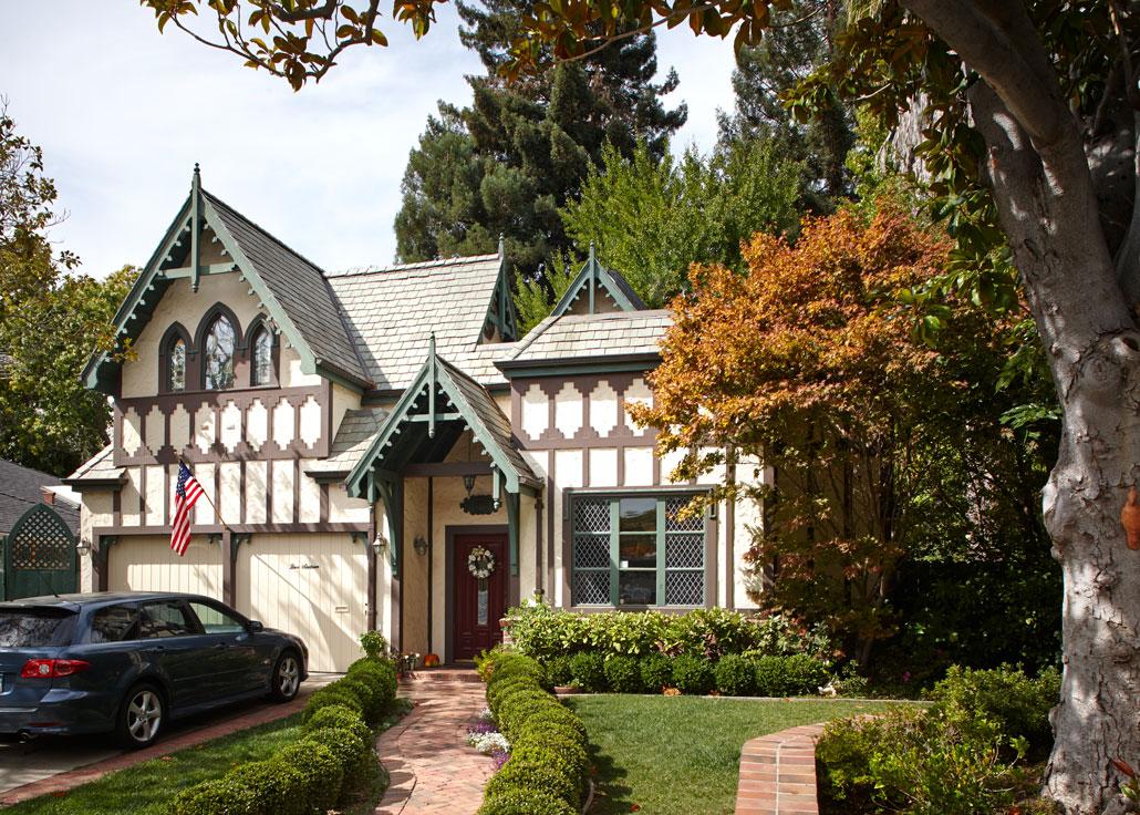 Detailed home exterior
