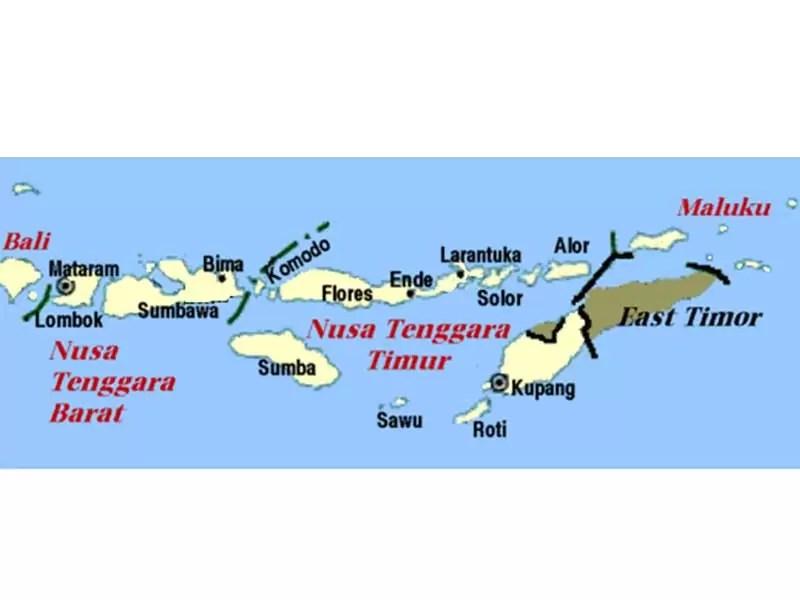 Kondisi Geografis Pulau Bali dan Nusa Tenggara