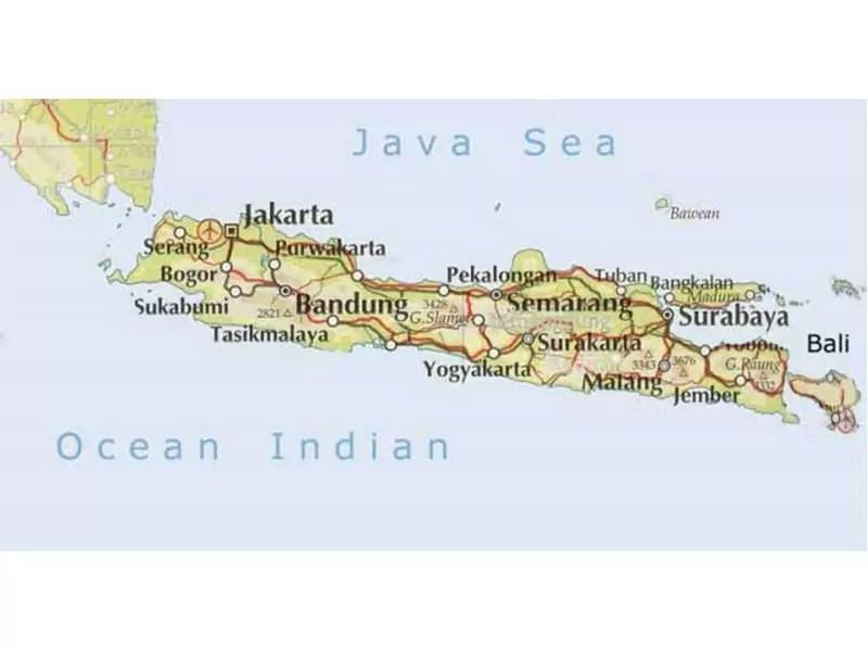 Kondisi Geografis Pulau Jawa