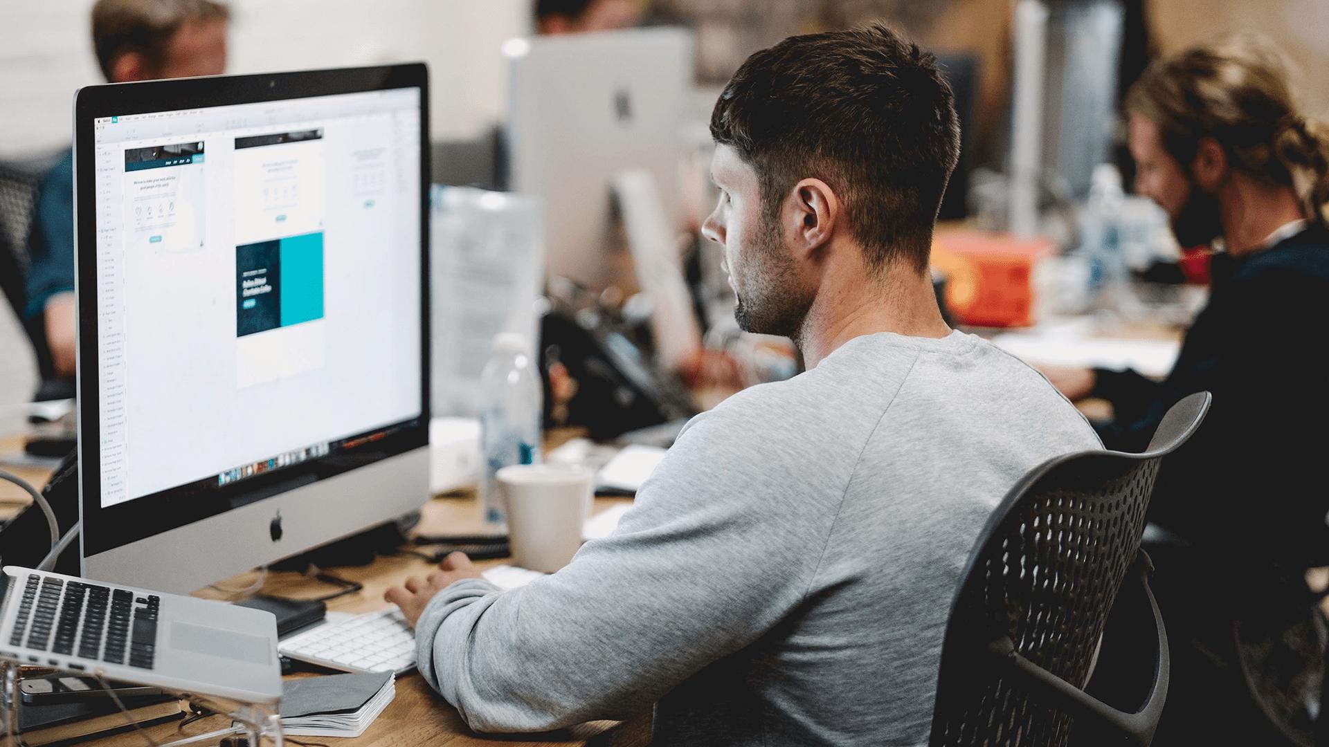 Studio Login, blog, proces tworzenia strony internetowej
