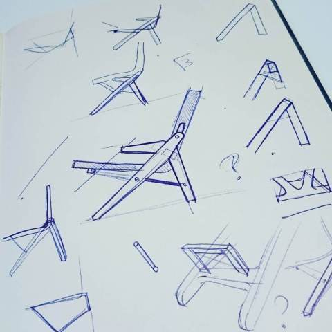 Still doodling some chairs. Maybe another piece?