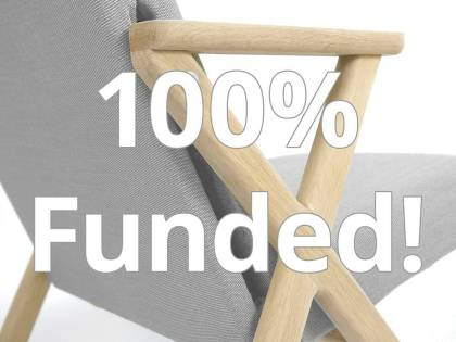 Close call, but we made it! We can now develop the Hybrid Chair further. Thanks everybody fir the support, you are a true hero! Next months we will update on our progress on testing and production #100