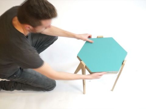 The transformable side table