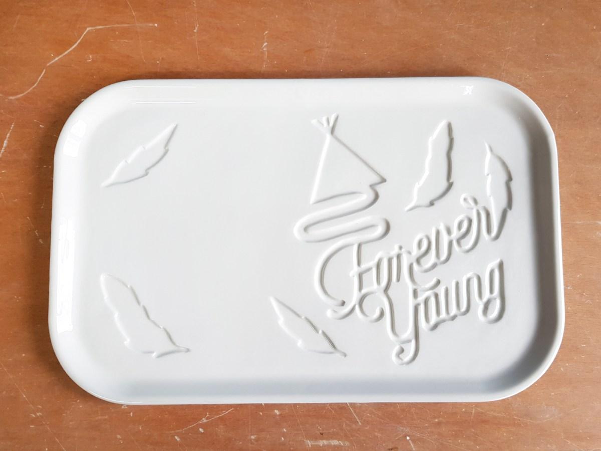 custom plate design bord aangepast klant volgens wensen